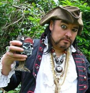 Captain James Tea Cook – Pirate of the Carob Bean